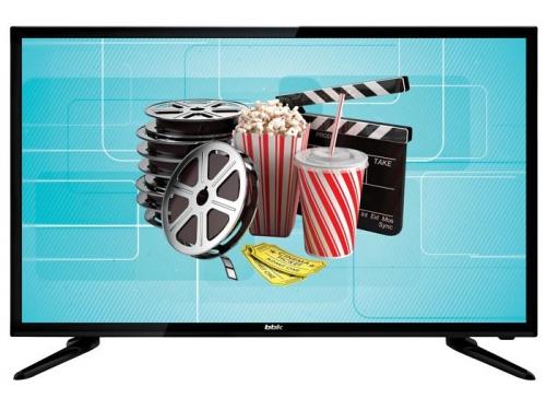 телевизор BBK 32LEX-7047/T2C, черный, вид 1