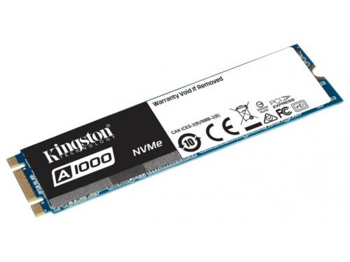 SSD-накопитель SSD Kingston SA1000M8/480G 480 Gb, M.2 2280, вид 1