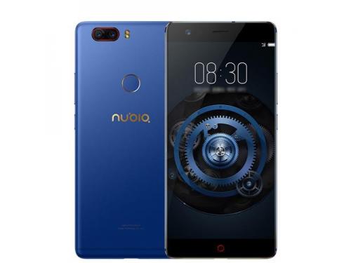 Смартфон ZTE Nubia Z17 Lite 6/64Gb, синий/золотистый, вид 1