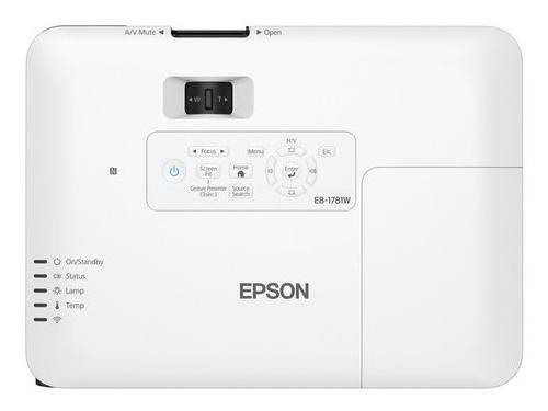 Видеопроектор Epson EB-1781W, ультрапортативный, вид 2