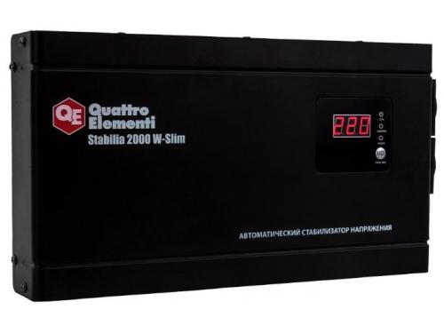 Стабилизатор напряжения Quattro Elementi Stabilia 2000 W-Slim, вид 2