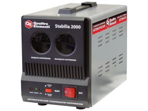Стабилизатор напряжения Quattro Elementi Stabilia 2000 (2 кВт), вид 1