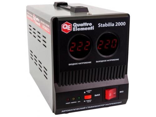 Стабилизатор напряжения Quattro Elementi Stabilia 2000 (2 кВт), вид 2