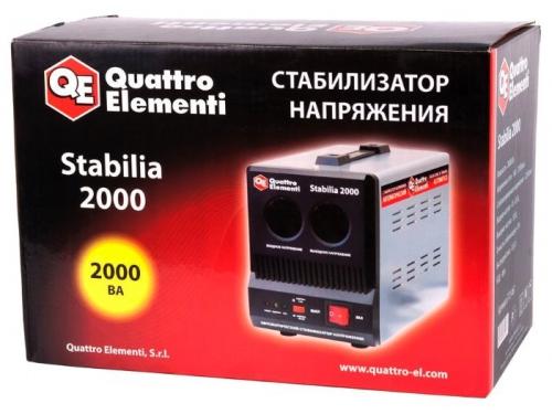 Стабилизатор напряжения Quattro Elementi Stabilia 2000 (2 кВт), вид 5