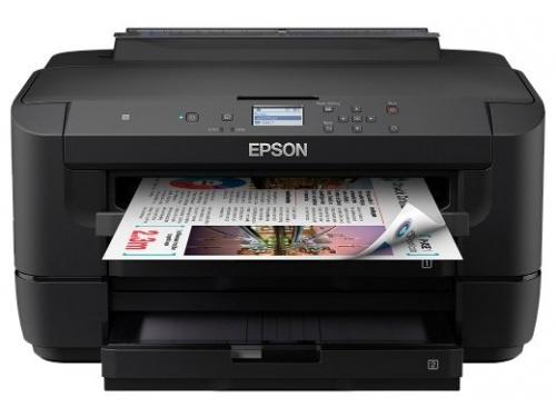 Принтер лазерный цветной  Epson WF-7210DTW,  настольный, вид 1