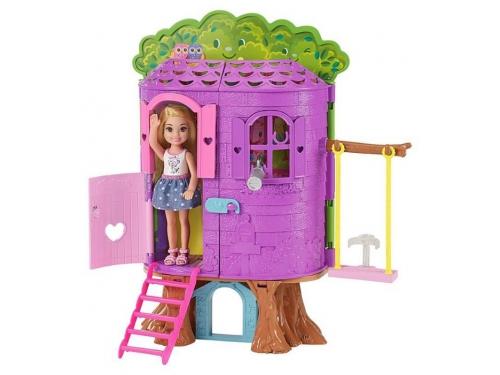 Кукла Игровой набор Barbie Домик на дереве Челси, вид 1