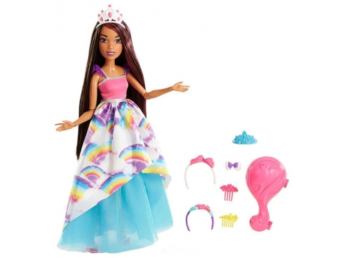 Кукла Barbie Принцесса, FXC81 брюнетка с длинными волосами, вид 1