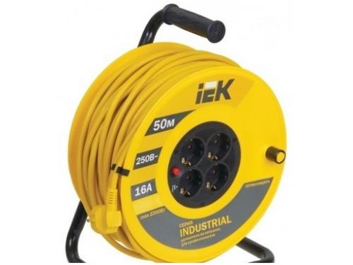 Удлинитель электрический Iek WKP15-16-04-50, 50м, вид 1