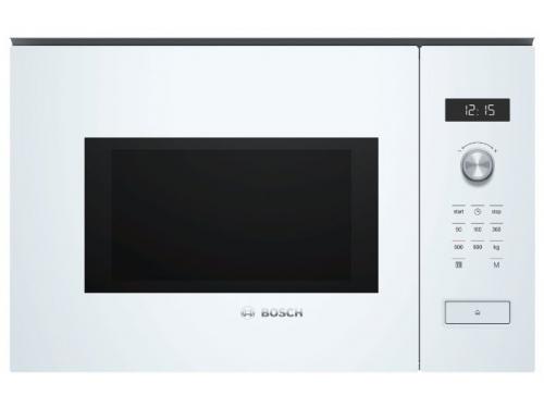 Микроволновая печь Bosch  BFL554MW0, белая, вид 1
