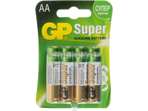 Батарейка GP Super Alkaline 15A LR6 AA, вид 1