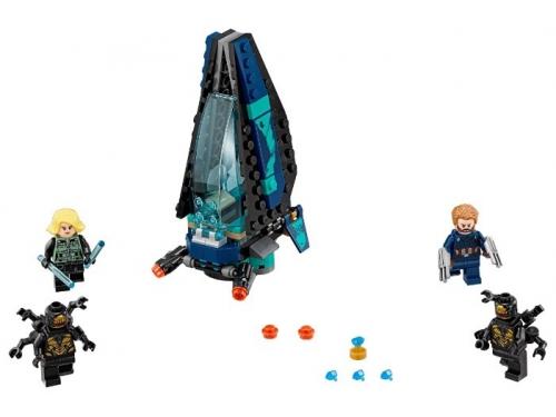 Конструктор LEGO Marvel Super Heroes AVENGERS infinity wars 76101 Атака всадников, вид 2