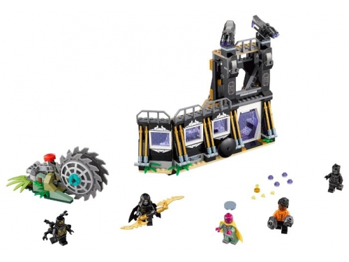 Конструктор LEGO Marvel Super Heroes AVENGERS infinity wars 76103 Атака Корвуса Глейва, вид 2