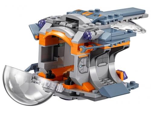 Конструктор LEGO Marvel Super Heroes AVENGERS infinity wars 76102 В поисках оружия Тора, вид 3