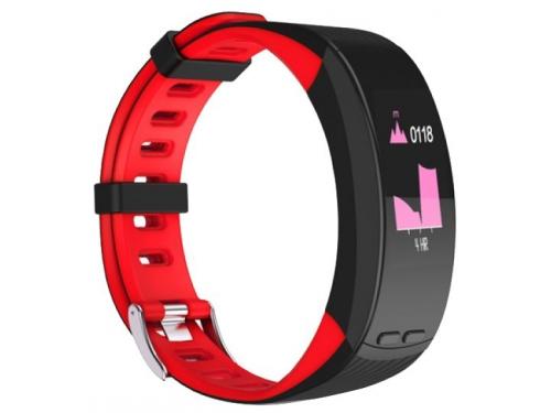 Фитнес-браслет Qumann QSB X красный+черный, вид 1