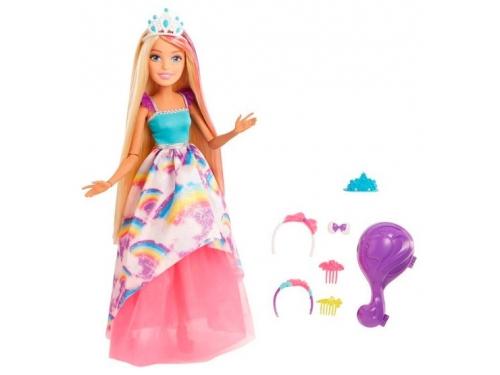 Кукла Barbie с длинными волосами блондинка FXC80 (большая), вид 1