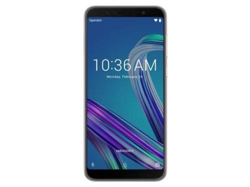 Смартфон ASUS ZenFone Max Pro ZB602KL 3/32GB, серебристый, вид 1