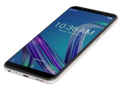 Смартфон ASUS ZenFone Max Pro ZB602KL 3/32GB, серебристый, вид 3