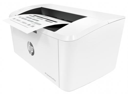 Принтер лазерный ч/б HP LaserJet Pro M15w (настольный), вид 1