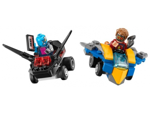 Конструктор Lego Super Heroes Mighty Micros Звёздный Лорд против Небулы, вид 1