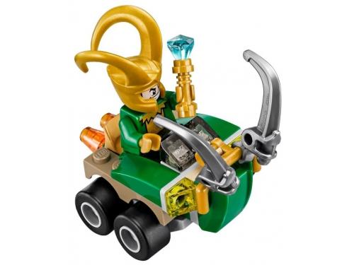 Конструктор LEGO Marvel Super Heroes 76091 Тор против Локи, вид 1