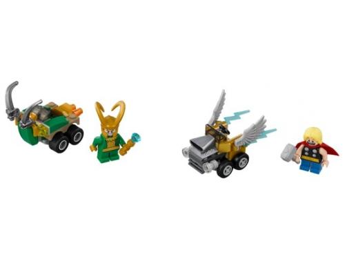 Конструктор LEGO Marvel Super Heroes 76091 Тор против Локи, вид 2