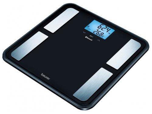 Весы напольные Beurer BF 850 BK, черные, вид 1