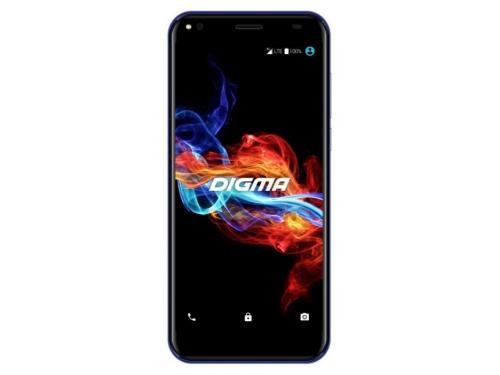 Смартфон Digma Rage 4G Linx 2/16, синий, вид 1