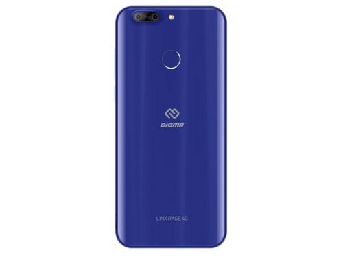 Смартфон Digma Rage 4G Linx 2/16, синий, вид 2