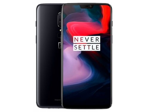 Смартфон OnePlus 6 6/64Gb Mirror, черный, вид 1