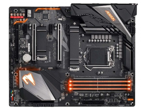 Материнская плата Gigabyte Z390 Aorus Pro (Soc-1151, DDR4, ATX, SATA3, LAN-Gbt, USB 3.1), вид 2