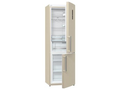 Холодильник Gorenje NRK6192MC, бежевый, вид 1