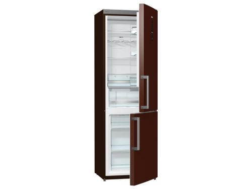 Холодильник Gorenje NRK6192MCH, шоколад, вид 1