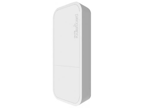 Роутер Wi-Fi MikroTik wAP ac (RBwAPG-5HacT2HnD), белый, вид 1