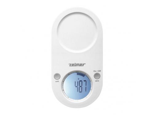 Кухонные весы Zelmer ZKS17500, белые, вид 2