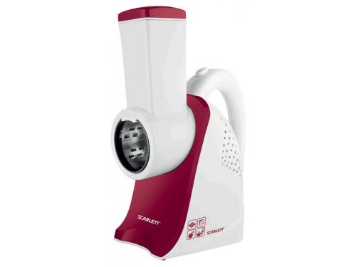 Измельчитель Scarlett SC-KP45S01, белый/красный, вид 1