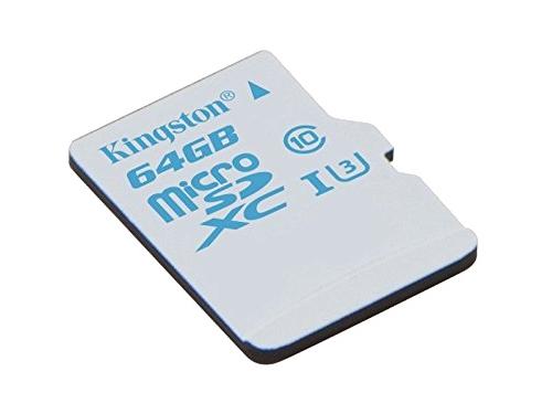 Карта памяти Kingston SDCAC/64GB (90/45, с адаптером), вид 1