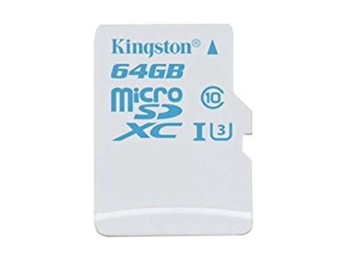 Карта памяти Kingston SDCAC/64GB (90/45, с адаптером), вид 2