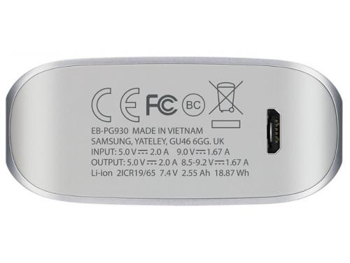 Аксессуар для телефона SamsungEB - PG930BSRGRU, серебристый, вид 3