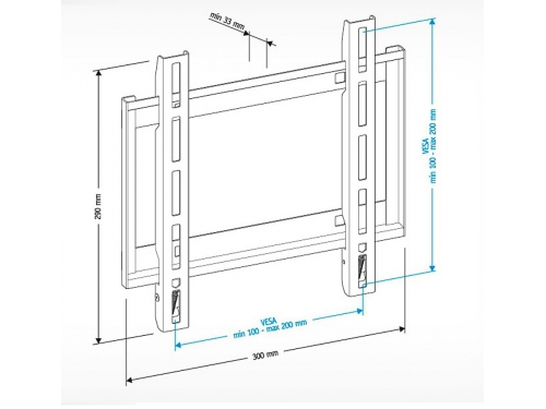 Кронштейн Holder LCD-F2608-B ( 22