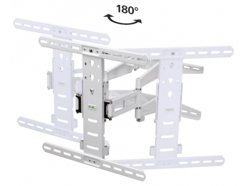 Кронштейн Hama H-108759 (37-70'', до 35 кг, наклон, поворот), белый, вид 3