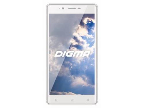 Смартфон Digma Vox S502 3G, белый/серебристый, вид 1