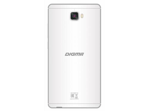 Смартфон Digma Vox S502 3G, белый/серебристый, вид 2