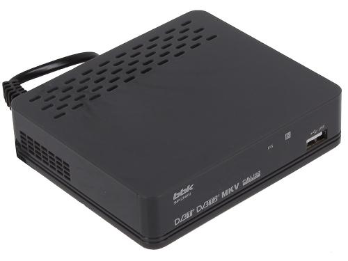 Ресивер BBK SMP123HDT2, темно-серый, вид 1
