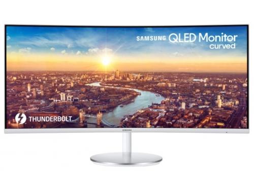 Монитор Samsung C34J791WTI, белый, вид 1