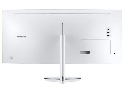 Монитор Samsung C34J791WTI, белый, вид 7