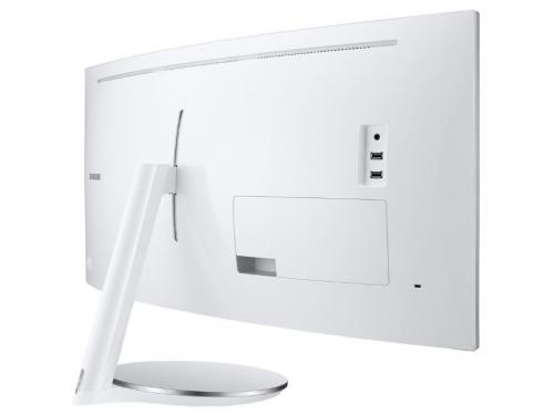 Монитор Samsung C34J791WTI, белый, вид 8