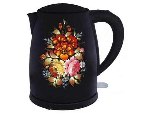 Чайник электрический Добрыня DO 1219, черный, вид 1