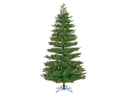 Новогодняя елка Black Box Балканская 185 см, зеленая, вид 1