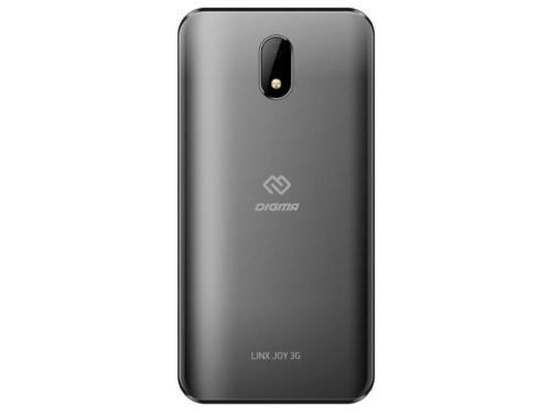 Смартфон Digma Joy 3G Linx 512/4Gb, темно-серый, вид 2