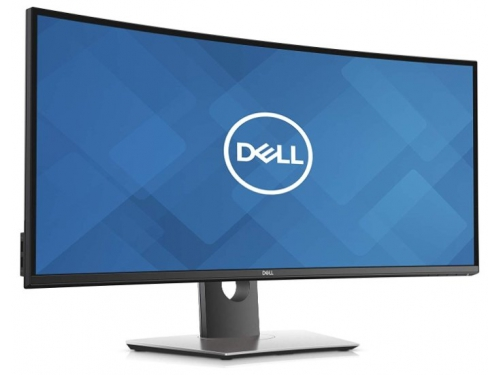 Монитор Dell UltraSharp U3419W, черный, вид 1